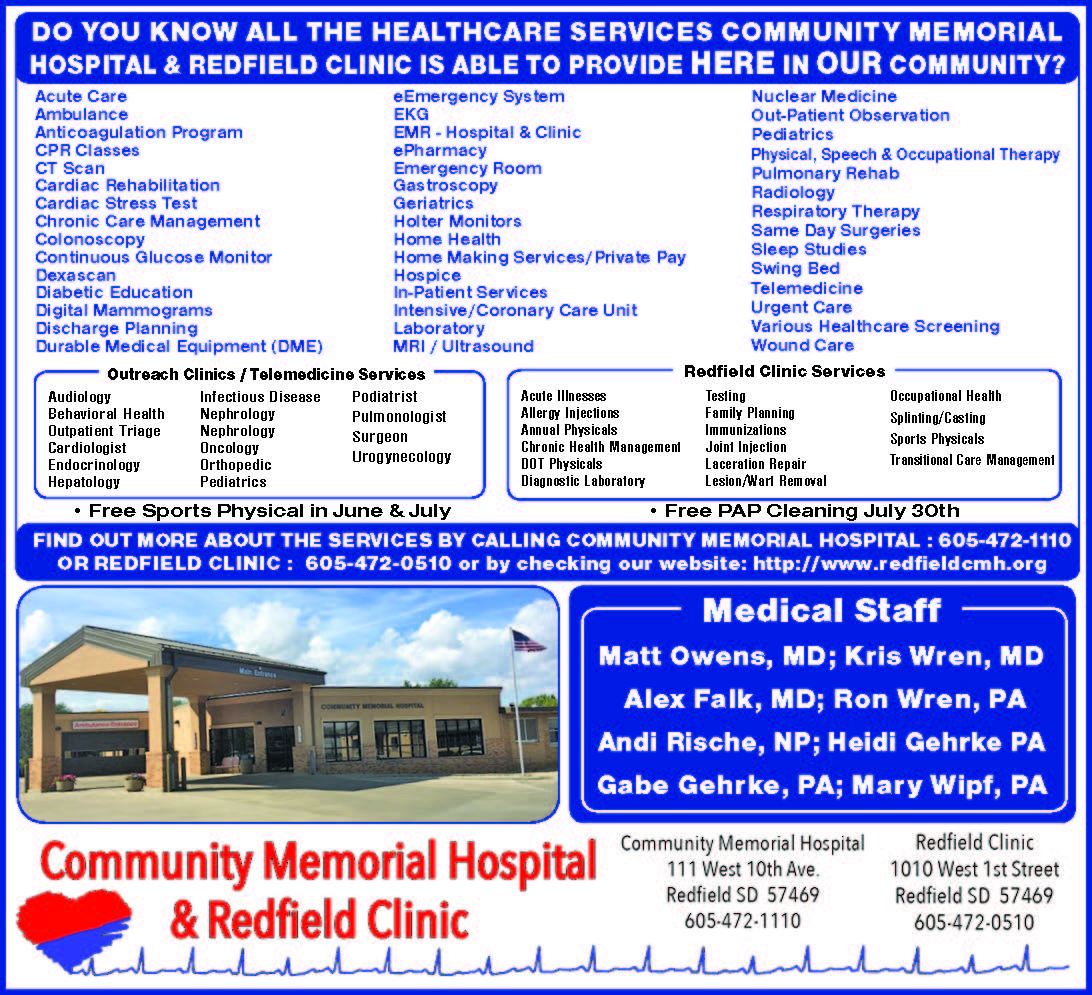 Do you know ALL the Healthcare Services available right HERE in OUR Community?