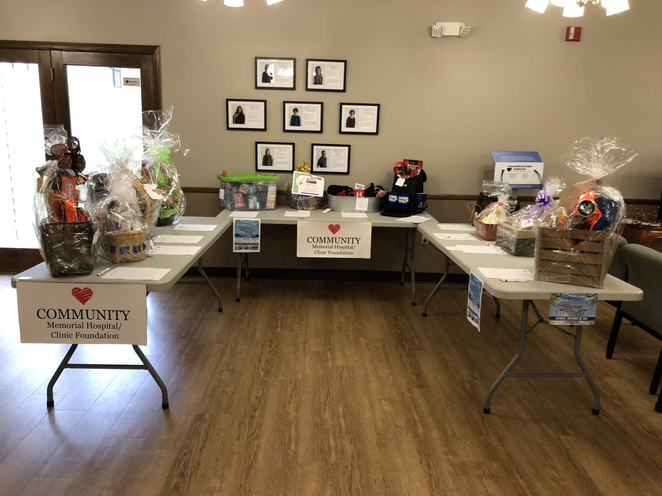 CMH/C FOUNDATION GALA SILENT AUCTION BASKETS - 11/10/18 Photo - Click Here to See